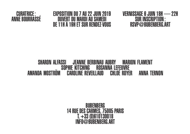 «ROOM 237» à la Galerie Bubenberg-Paris - Contemporaines